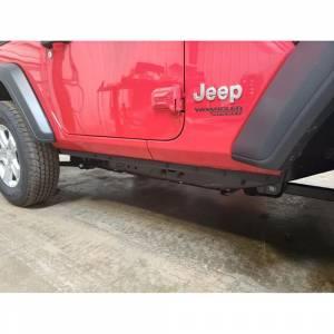 Exterior Accessories - Jeep Doors - Hammerhead Bumpers - Hammerhead 600-56-0900 2 Door Bottom Trim for Jeep Wrangler JL 2018-2021