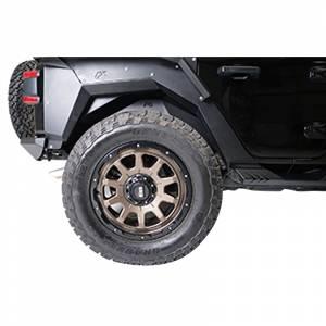 Fab Fours JL1008-1 Rear Inner Fender for Jeep Wrangler JL 2018-2021