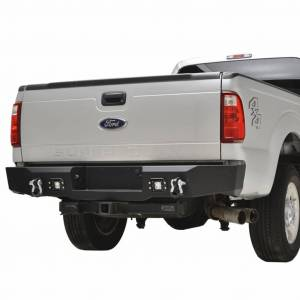 Scorpion Extreme Armor - Scorpion SCO-RBSD11 HD Rear Bumper with LED Cube Lights Ford F250/F350/F450 2011-2016 - Image 2