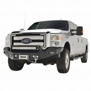 Scorpion SCO-FBSD11 HD Front Bumper with LED Cube Lights Ford F250/F350/F450 2011-2016