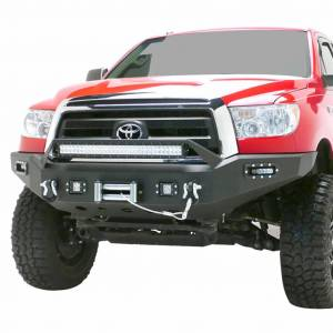 Scorpion SCO-FBTUN07 HD Front Bumper with LED Cube Lights Toyota Tundra 2007-2013
