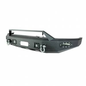 Scorpion SCO-FBTUN14 HD Front Bumper with LED Cube Lights Toyota Tundra 2014-2021