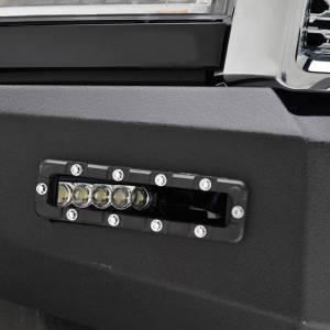 Scorpion Extreme Armor - Scorpion SCO-FBRAM13 HD Front Bumper with LED Cube Lights Dodge Ram 2500/3500 2010-2018 - Image 5