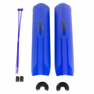 Shock Absorbers & Accessories - Shock Guards - Daystar - Daystar KU20030RBA 2.0 Shock Guard with Zip Ties - Blue
