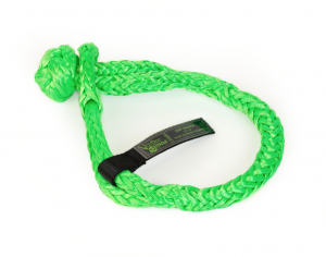 """Recovery Tow Ropes and Winch Lines - VooDoo Offroad Recovery Ropes - VooDoo Offroad - VooDoo Offroad 1500001A 1/2"""" x 8"""" Soft Shackle Green"""