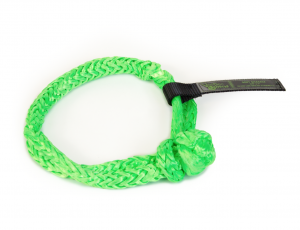 """Recovery Tow Ropes and Winch Lines - VooDoo Offroad Recovery Ropes - VooDoo Offroad - VooDoo Offroad 1500003A 3/8"""" x 7"""" Soft Shackle Green"""