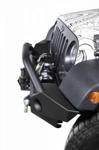 Scorpion Extreme Armor - Scorpion 6005401BK Front Full Width Bumper Jeep Wrangler JK 2007-2018 and Jeep Wrangler JL 2018-2020
