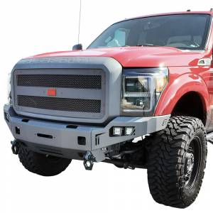 Chassis Unlimited CUB940111 Octane Winch Front Bumper for Ford F-250/F-350 2011-2016