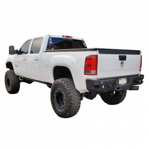 Chassis Unlimited - Chassis Unlimited CUB910312 Octane Rear Bumper with Sensor Holes for GMC Sierra 2500/3500 HD 2007-2010