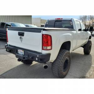 Chassis Unlimited - Chassis Unlimited CUB910312 Octane Rear Bumper with Sensor Holes for GMC Sierra 2500/3500 HD 2007-2010 - Image 2