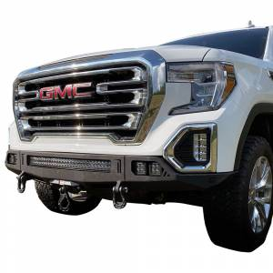 Chassis Unlimited CUB940401 Octane Winch Front Bumper without Sensor Holes for GMC Sierra 1500 2019-2021