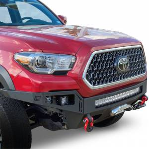 Chassis Unlimited CUB940231 Octane Winch Front Bumper for Toyota Tacoma 2016-2021