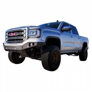 Chassis Unlimited CUB900421 Octane Winch Front Bumper without Sensor Holes for GMC Sierra 1500 2016-2018