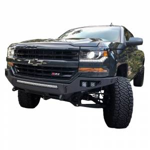 Chassis Unlimited CUB900211 Octane Front Bumper without Sensor Holes for Chevy Silverado 1500 2016-2018
