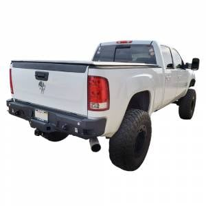 Chassis Unlimited - Chassis Unlimited CUB910301 Octane Rear Bumper without Sensor Holes for GMC Sierra 2500/3500 HD 2015-2019