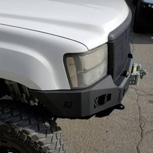 Chassis Unlimited - Chassis Unlimited CUB940311 Octane Winch Front Bumper for GMC Sierra 2500/3500 HD 2007-2010 - Image 3