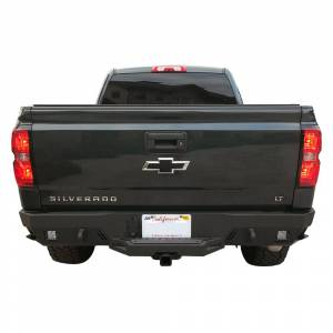 Chassis Unlimited - Chassis Unlimited CUB910382 Octane Rear Bumper with Sensor Holes for Chevy Silverado 2500HD/3500 2015-2019