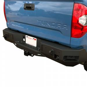 Chassis Unlimited - Chassis Unlimited CUB910362 Octane Rear Bumper with Sensor Holes for Toyota Tundra 2014-2021