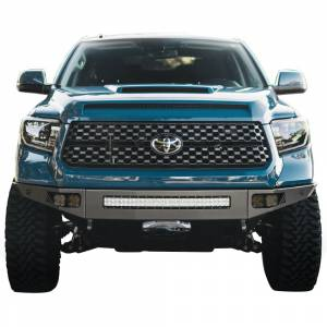 Chassis Unlimited - Chassis Unlimited CUB940362 Octane Front Bumper with Sensor Holes for Toyota Tundra 2014-2021