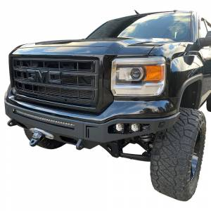 Chassis Unlimited CUB940431 Octane Winch Front Bumper without Sensor Holes for GMC Sierra 1500 2014-2015