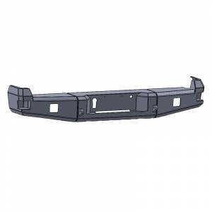 Chassis Unlimited CUB990142 Attitude Rear Bumper with Sensor Holes for Ford F-250/F-350 2017-2021