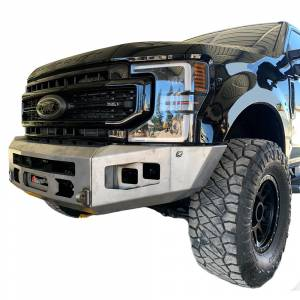 Chassis Unlimited CUB980141 Attitude Winch Front Bumper for Ford F-250/F-350 2017-2021