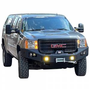 Chassis Unlimited CUB940541 Octane Winch Front Bumper for GMC Sierra 2500/3500 HD 2011-2014