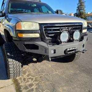 Chassis Unlimited - Chassis Unlimited CUB940501 Octane Winch Front Bumper for GMC Sierra 2500/3500 2003-2006 - Image 2