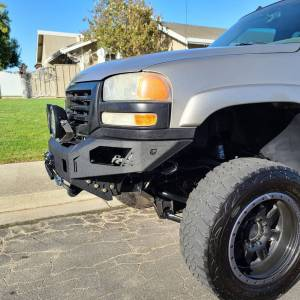 Chassis Unlimited - Chassis Unlimited CUB940501 Octane Winch Front Bumper for GMC Sierra 2500/3500 2003-2006 - Image 4