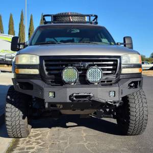 Chassis Unlimited - Chassis Unlimited CUB940501 Octane Winch Front Bumper for GMC Sierra 2500/3500 2003-2006 - Image 5