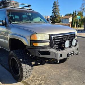 Chassis Unlimited - Chassis Unlimited CUB940501 Octane Winch Front Bumper for GMC Sierra 2500/3500 2003-2006 - Image 7