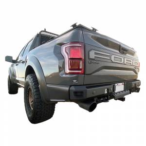 Chassis Unlimited CUB910512 Octane Rear Bumper with Sensor Holes for Ford Raptor 2017-2020