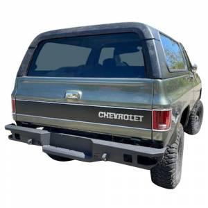 Chassis Unlimited CUB910251 Octane Rear Bumper for Chevy Silverado 1500/2500HD/3500 1999-2007