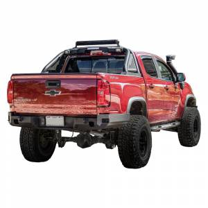 Chassis Unlimited CUB910201 Octane Rear Bumper for Chevy Colorado ZR2 and GMC Canyon 2015-2020
