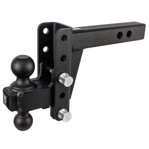 """BulletProof Hitches ED204 2"""" Extreme Duty 4"""" Drop/Rise Hitch"""