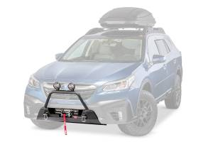 Warn 106396 Semi Hidden Winch Mount Bumper Subaru Outback 2020-2021