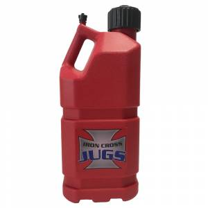 Iron Cross 5002RP 5 Gallon 4 Pack Utility Jug - Red