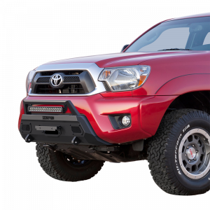 Scorpion P000006 CS1 HD Winch Mount Front Bumper with LED Light Bar Toyota Tacoma 2012-2015