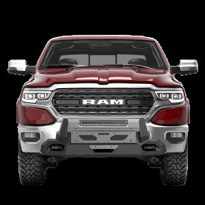 Scorpion P000014 CS1 HD Winch Mount Front Bumper with LED Light Bar Dodge RAM 1500 2019-2020