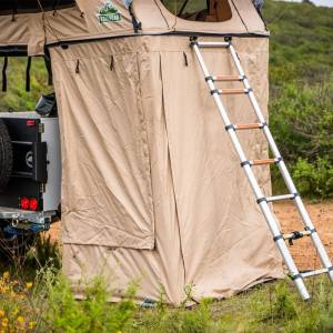 Tuff Stuff TS-ANX-DLT-TRL Delta and Trailhead Overland Roof Top Tent Annex Room with Floor