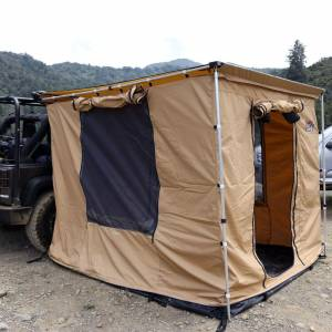 Tuff Stuff TS-AWN-CSR-280G 6.5' x 8' Awning Camp Shelter Room with PVC Floor