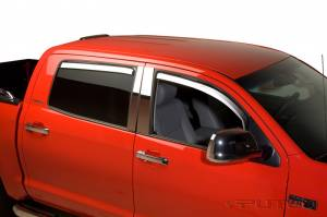 B Exterior Accessories - Side Window Deflectors - Putco