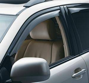 B Exterior Accessories - Side Window Deflectors - Weathertech