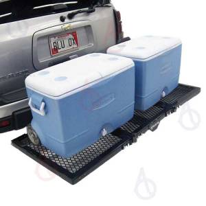 B Exterior Accessories - Cargo Boxes and Racks - Blue Ox Sport Lift | Motorcycle Carrier
