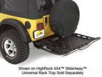 Bumpers - Bumper Accessories - Bumper Storage Rack Bracket