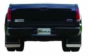 Stainless-Steel Applications - GO Industries - Ford Truck Stainless Steel Mud Flaps