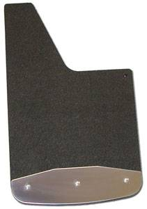 Custom-Molded Rubber - Luverne - Dodge Truck Rubber Textured Mud Flaps