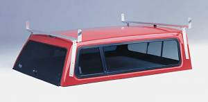 "Hauler Racks Ladder Racks - Camper Shell Racks - Campershell Aluminum Rack ""Attach to Side of Cap"""