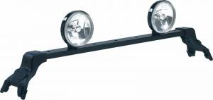 Deluxe Light Bar - Deluxe Light Bar in Black Powder Coat - Jeep
