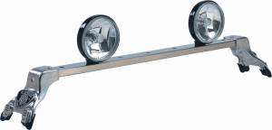 Deluxe Light Bar - Deluxe Light Bar in Bright Anodized - Ford